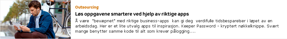 TDC Perspektiv: Outsourcing
