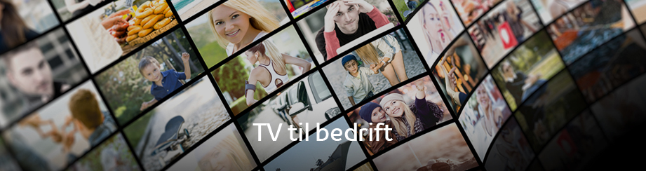 TV til bedrift